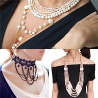 Как носить длинные ожерелья?