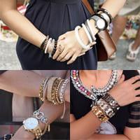 Как носить одновременно золотые и серебряные украшения?